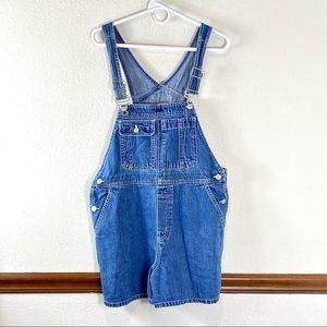 Gap 1990s overall shorts size M
